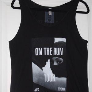 Beyoncé and Jay-Z On The Run Tour 2014 Tank Top